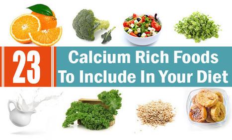 Top 23 Calcium Rich Foods To Include In Your Diet   Health Beckon   Scoop.it
