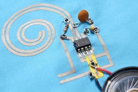 How to Work With Conductive Fabric - @Instructables | Makerspaces in Libraries | Scoop.it