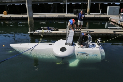 Dispatch from the Deep: Diving in a Developmental Submersible - Xconomy | DiverSync | Scoop.it