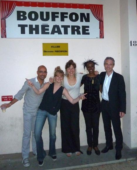 Mathilde et sa 1ère promotion | « N'autre Atelier » cours de théâtre de Mathilde Levesque | Scoop.it