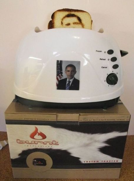Obama Toaster | Gadgets and Gadgets | Scoop.it