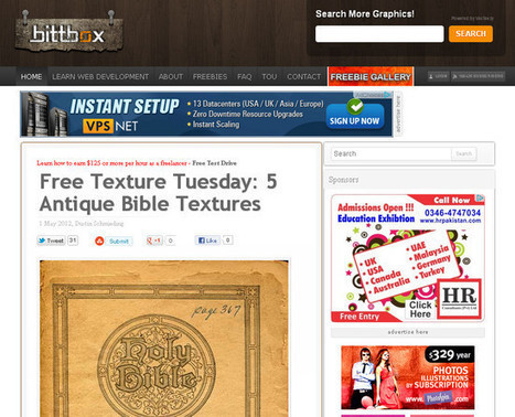 30 excelentes sitios para descargar recursos para Illustrator ... | Recursos diseño gráfico | Scoop.it
