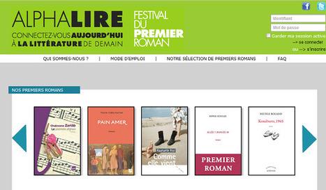 AlphaLire : une plateforme d'accès aux premiers romans en numérique | Rat de bibliothèque | Scoop.it