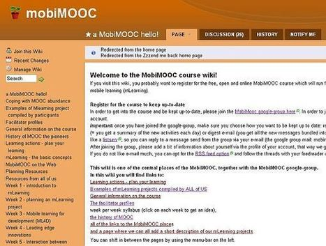 MoocGuide - 4. Designing a MOOC using social media tools | Learning Happens Everywhere! | Scoop.it