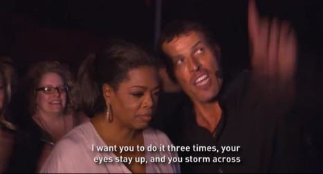 Oprah Winfrey & Tony Robbins - UPW Firewalk | Mapmakers | Scoop.it