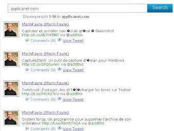 Sperse: Un moteur de recherche généraliste | Les moteurs de recherche et leurs spécificités | Scoop.it