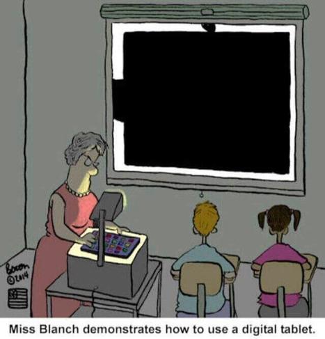 Digital tablets   Educational cartoons and jokes   Scoop.it