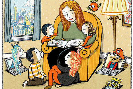The Great Gift of Reading Aloud - Wall Street Journal   Εδώ Νηπιαγωγείο   Scoop.it