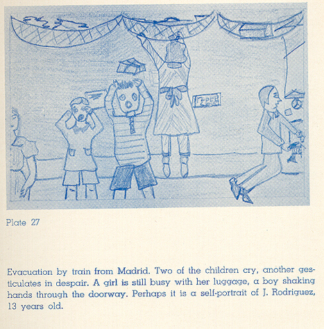 Children's Drawings of the Spanish Civil War: A Virtual Exhibition Catalog | Historia Espana | Scoop.it