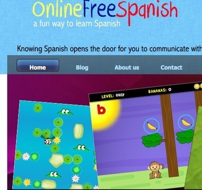 Spanish Website for Kids – OnlineFreeSpanish | GCSE Spanish | Scoop.it