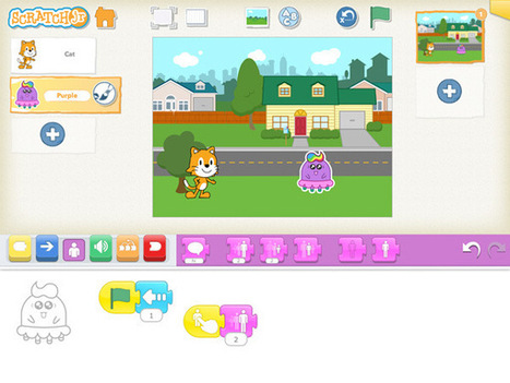 ScratchJr Coding App Now Available on iPads | The Whiteboard Blog | path to Ithaca | Scoop.it