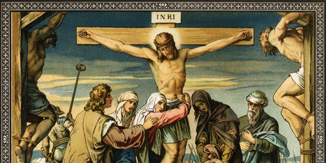 Jesus' Crucifixion In Art Illustrates One Of The Most Famous Biblical Moments ... - Huffington Post   Christianity   Scoop.it
