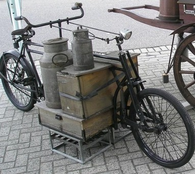 Low-tech Magazine: Cargo cyclists replace truck drivers on European city streets | Global Logistics Trends and News | Scoop.it