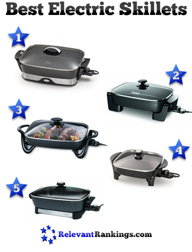 5 Best Electric Skillets | Food and Kitchen | Scoop.it