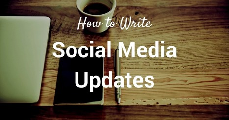 71 Ways to Write a Social Media Update | Work From Home | Scoop.it