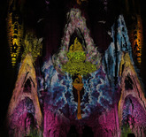 Barcelona's Most Famous Building, Sagrada Familia, Gets Spectacularly Illuminated | The Creators Project | Mindset Panorama & Scope | Scoop.it