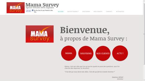 Mama Survey lance son nouveau site !   mamasurvey l'agence d'études 100% digitales, sociales et mobiles   Scoop.it