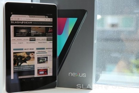 Google's Nexus 7 stops orders due to demand - SlashGear | Metaglossia: The Translation World | Scoop.it