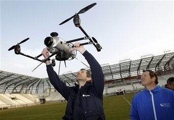 Delta Drone a bien pris son envol | Grenoble numérique | Scoop.it