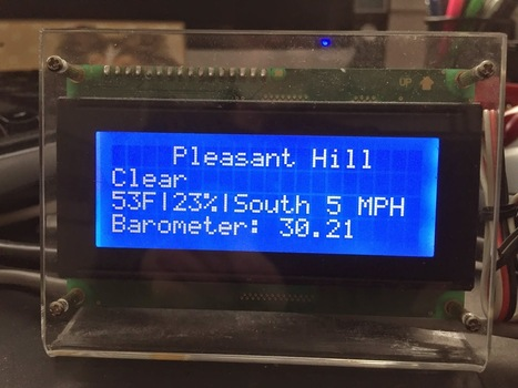 thisoldgeek: ESP8266 Weather Display | Arduino, Netduino, Rasperry Pi! | Scoop.it