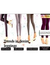 Trends in denim leggings | citrusox | Scoop.it