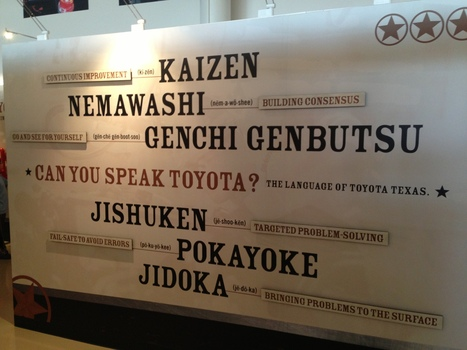 Toyota Tour Thoughts – Yes, They Have Opportunities for Kaizen ... | Lean6Sigma | Scoop.it