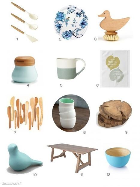 { Shopping } Ambiance zen et épurée dans la cuisine ! | DecoCrush blog déco, idées déco | décoration & déco | Scoop.it