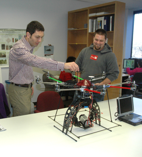 Octocopter helps Texas A&M forestry research take flight | Robots and Robotics | Scoop.it