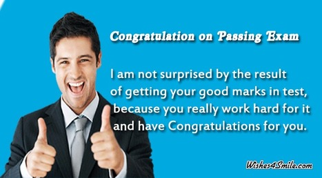 Congratulations Messages for Passing Exams - Wishes4Smile   Entertainment   Scoop.it