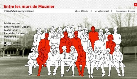 Entre les murs de Mounier | L'actualité du webdocumentaire | Scoop.it