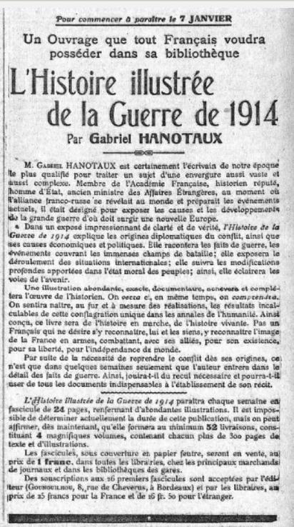 La Guerre de 1914 illustrée (Gabriel Hanotaux) – 1- Les origines diplomatiques du conflit - 14-18Hebdo.fr | Nos Racines | Scoop.it