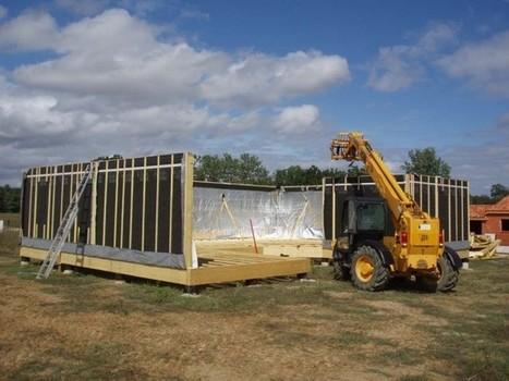 Construction d'une maison à ossature bois en 10 étapes | Ressources pour la Technologie au College | Scoop.it