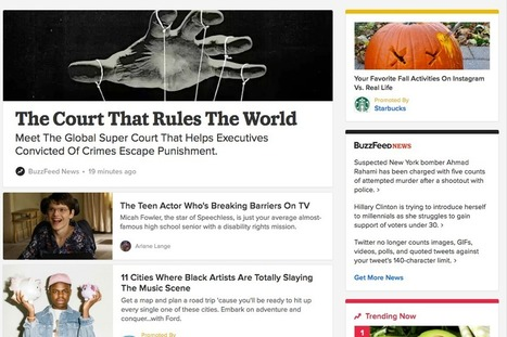 With its new redesign, BuzzFeed's betting that the homepage still matters | Multimedia Journalism | Scoop.it