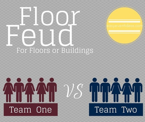 Easy Family Feud for Floor or Friends | Event Planning | Scoop.it