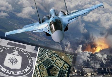 CNA: CAZAS RUSOS destruyen una BASE MILITAR SECRETA de EEUU y REINO UNIDO en SIRIA | La R-Evolución de ARMAK | Scoop.it