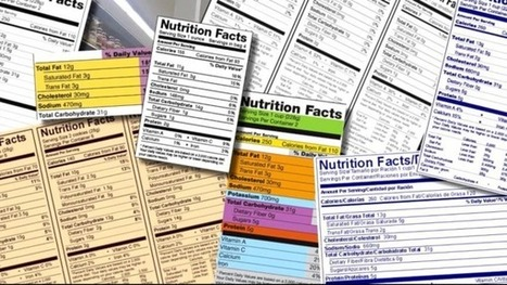 Nutrition Labels Get a Facelift to Reflect Reality | Current Events | Scoop.it