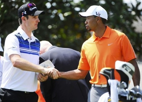 Justin Rose shrugs off heckler to lead Tiger Woods at the halfway point of Arnold Palmer Invitational in Orlando - Telegraph   2013 Arnold Palmer Invitational at Bay Hill   Scoop.it