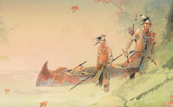 Les Indiens tiennent leur revanche en BD | France TV | Kiosque du monde : Amériques | Scoop.it