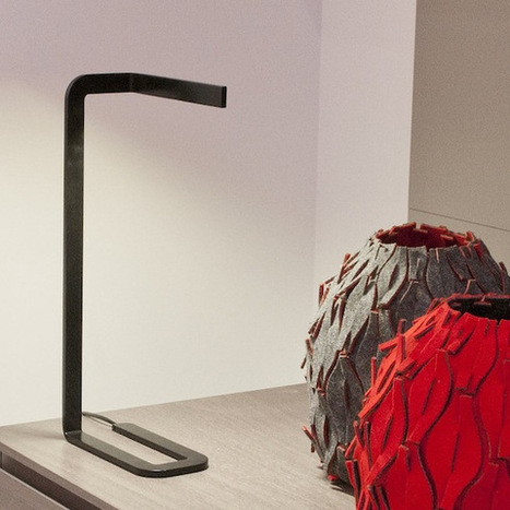 Florian Brillet : Lampe Plate   Rendons visibles l'architecture et les architectes   Scoop.it