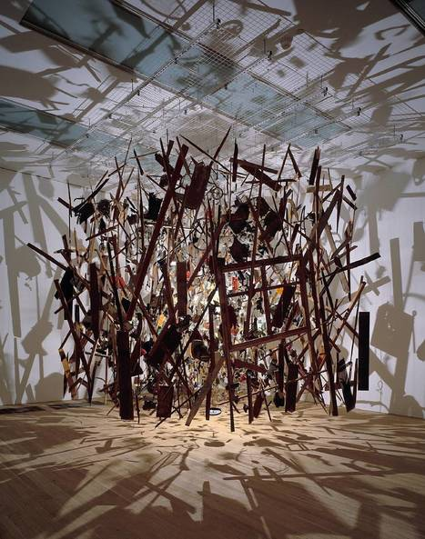 Cornelia Parker, 'Cold Dark Matter: An Exploded View' 1991 | Curating [ Media ] Arts | Scoop.it
