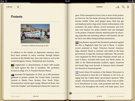 Create an eBook from Wikipedia Articles | eLearning en Belgique | Scoop.it