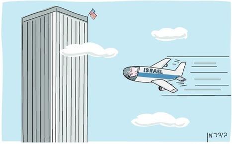Un journal israélien provoque un tollé pour avoir caricaturé Netanyahou en pilote du 11-Septembre | Autres Vérités | Scoop.it