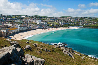 St Ives Bay voted the best view in Cornwall in online survey | St Ives in Cornwall | Scoop.it