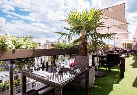 Rooftop Paris : les meilleurs rooftops de Paris où boire un verre - Elle | Gastronomie Française 2.0 | Scoop.it