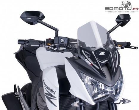 Les bulles pour Kawasaki Z800, l' accessoire indispensable ! | accessoires motos | Scoop.it