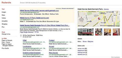 Google met en valeur la géolocalisation pour les hôtels | Chambres d'hôtes et Hôtels indépendants | Scoop.it