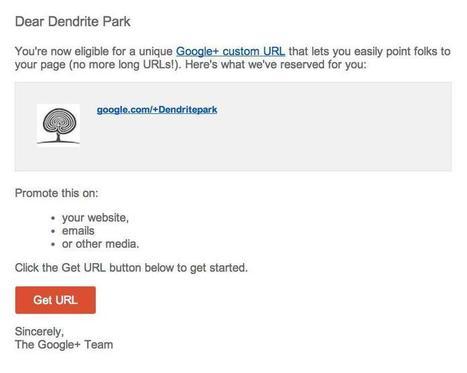 How To Get Your Own Vanity URL on Google+ | Social | Scoop.it