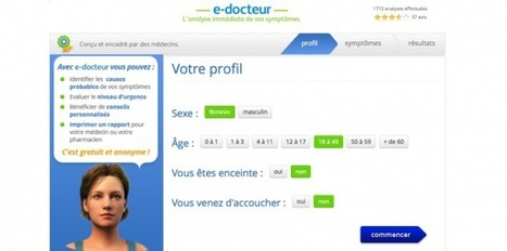 e-docteur : un site pour analyser vos symptômes | Médicaments et E-santé | Scoop.it