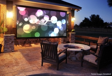 How to find best rated Outdoor Theater Screen? | Projector Screens | Scoop.it