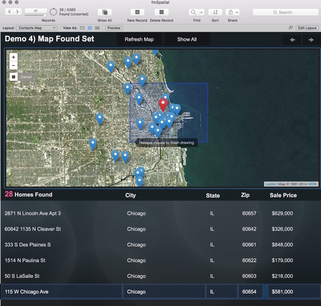 GIS and FileMaker - Mapping and More | FileMaker News | Scoop.it